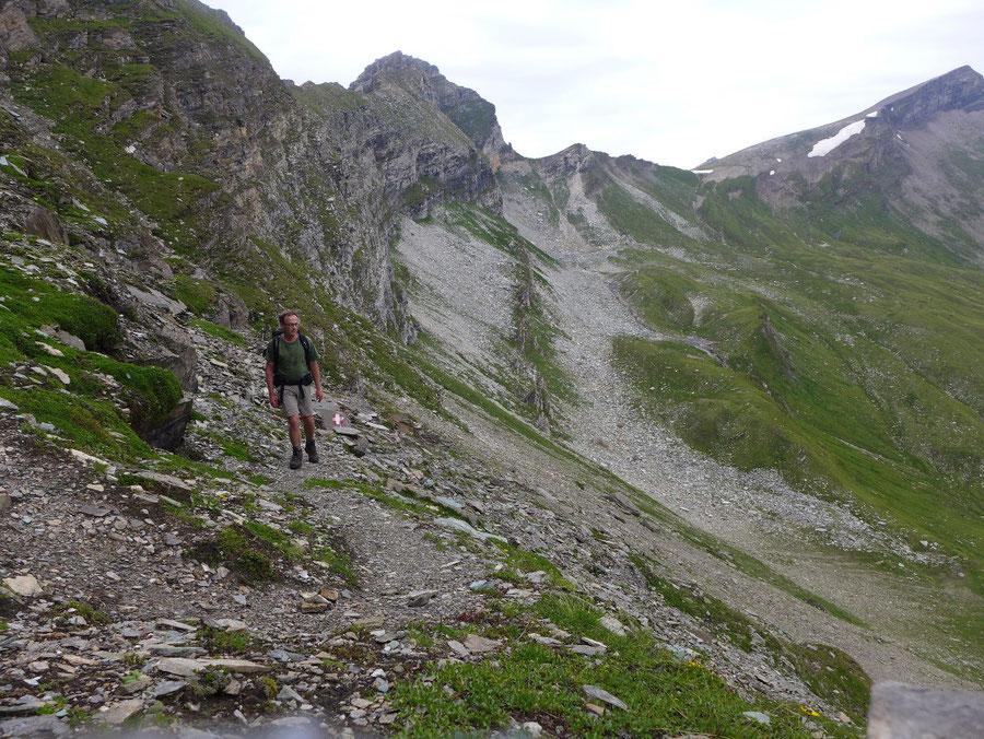Sadnig-Höhenweg - Melenwände, Steig - Bergtour, Mölltaler Gletscher, Fraganter Hütte, Kärnten