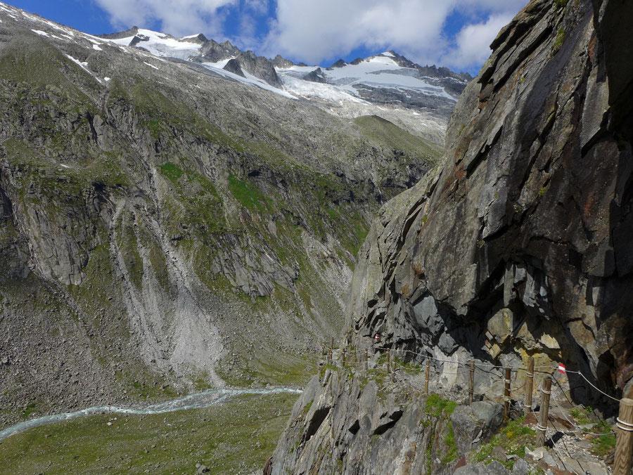 Großvenediger - Bergtour, Gletschertour, Kürsinger Hütte - Obersulzbachtal, Klamml