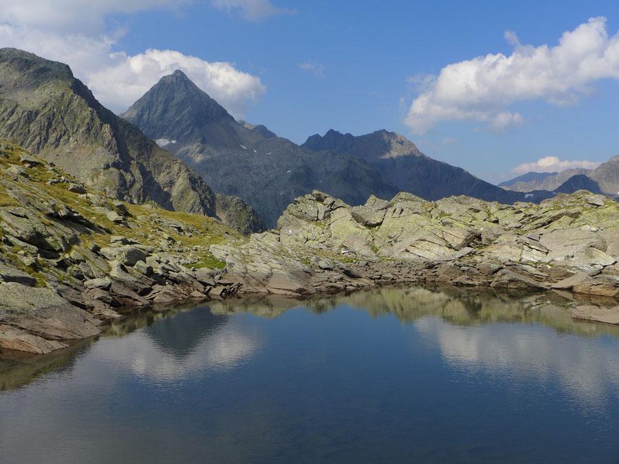 Leibnitztörl und Hochschoberhütte - Glödis, Bergsee - Bergtour, Franz-Keil-Weg, Lienzer Hütte