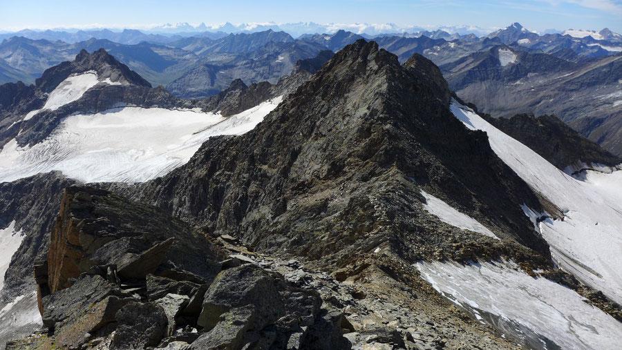 Nördliche Malhamspitze - Bergtour, Ostgrat, Essener-Rostocker-Hütte - Mittlere Malhamspitze