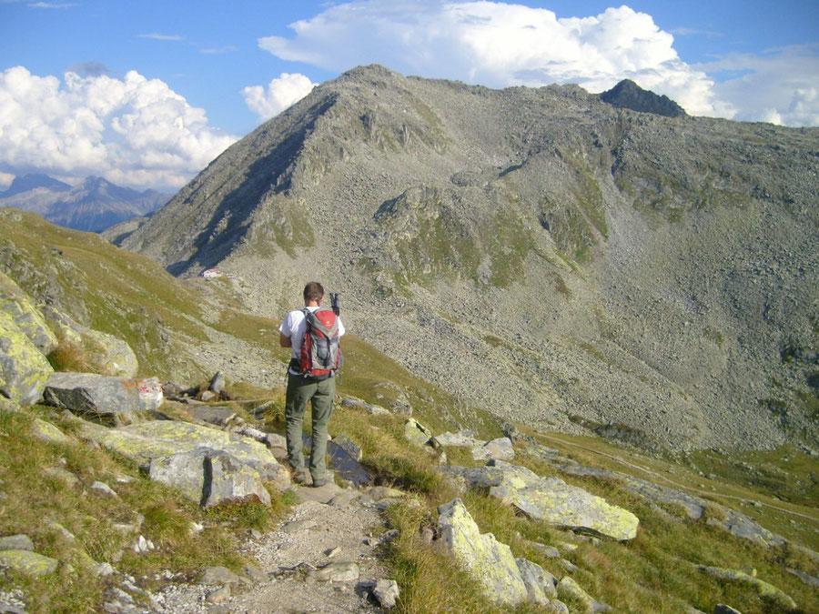 Großer Möseler - Chemnitzer Hütte, Nevesjoch und Schaflahnernock - Bergtour, Zillertaler Alpen, Südtirol, Chemnitzer Hütte