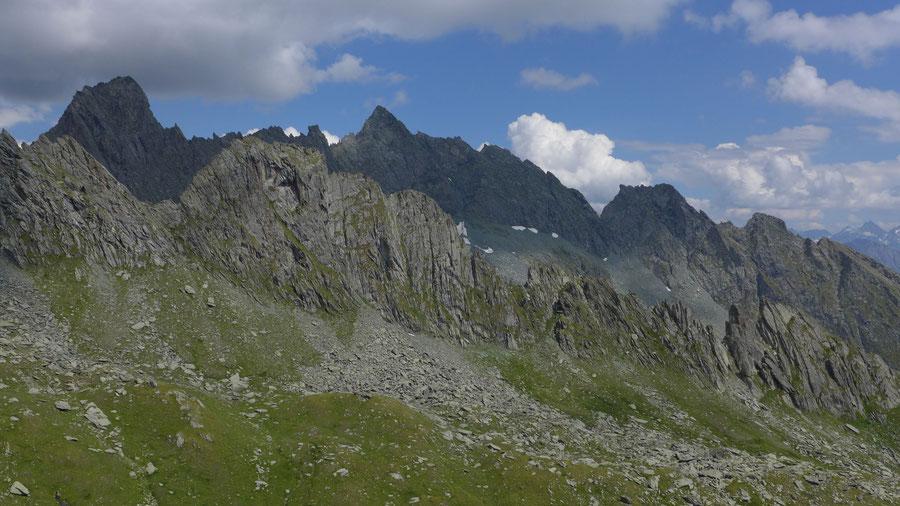 Bonn-Matreier-Hütte - Wanderung, Virgental, Venedigergruppe - Galtenkogel u. Mittereggspitze