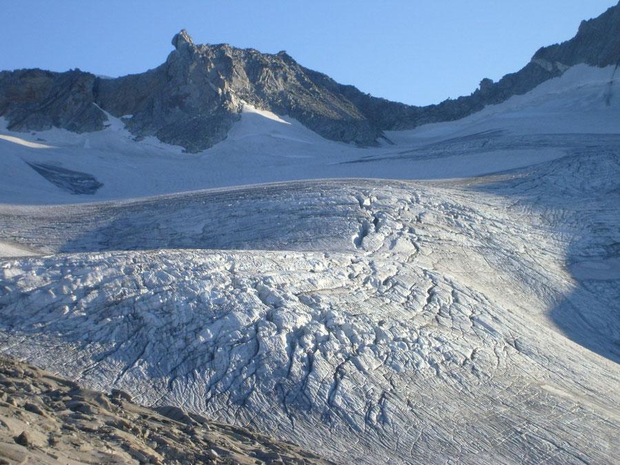 Großer Möseler - Östlicher Nevesferner - Bergtour, Zillertaler Alpen, Südtirol, Chemnitzer Hütte