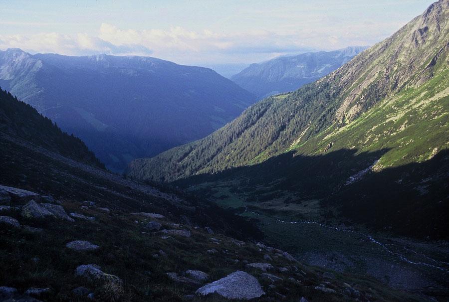 Keilbachspitze - Frankbachtal, die Gruben - Bergtour, Zillertaler Alpen, Ahrntal, Südtirol
