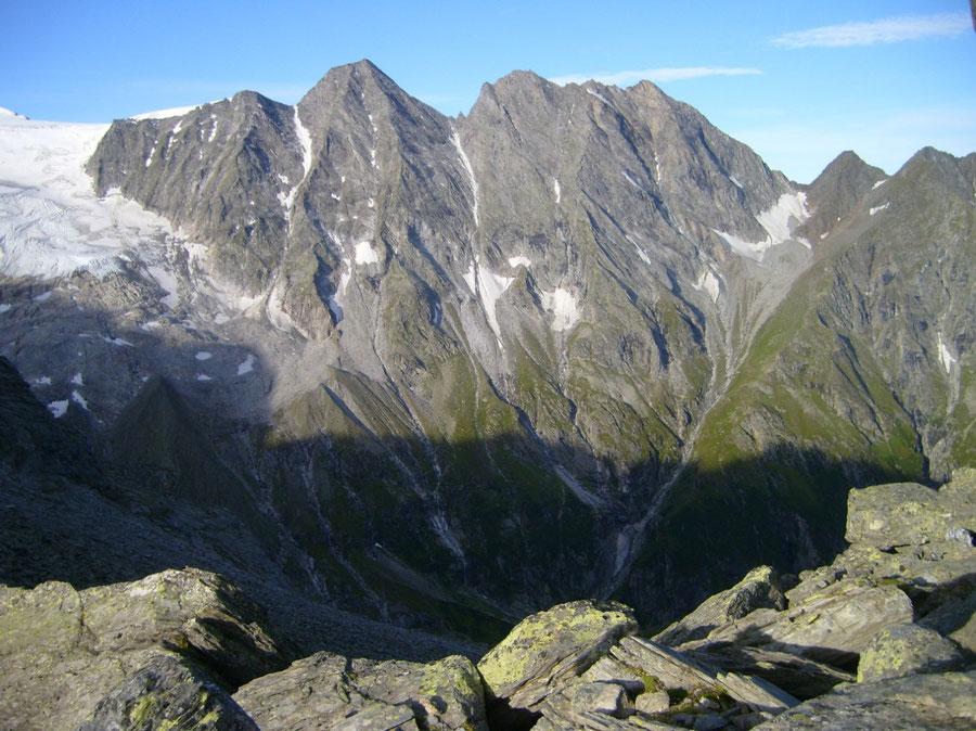 Lapenscharte - Mörchenscharte, Großer Mörchner - Kasseler Hütte, Greizer Hütte - Wanderung, Bergtour, Zillertaler Alpen