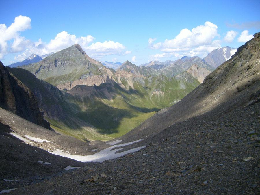Pfunderer Höhenweg - Rauhtaljoch, Grabspitze - Wanderung, Pfunderer Berge, Südtirol