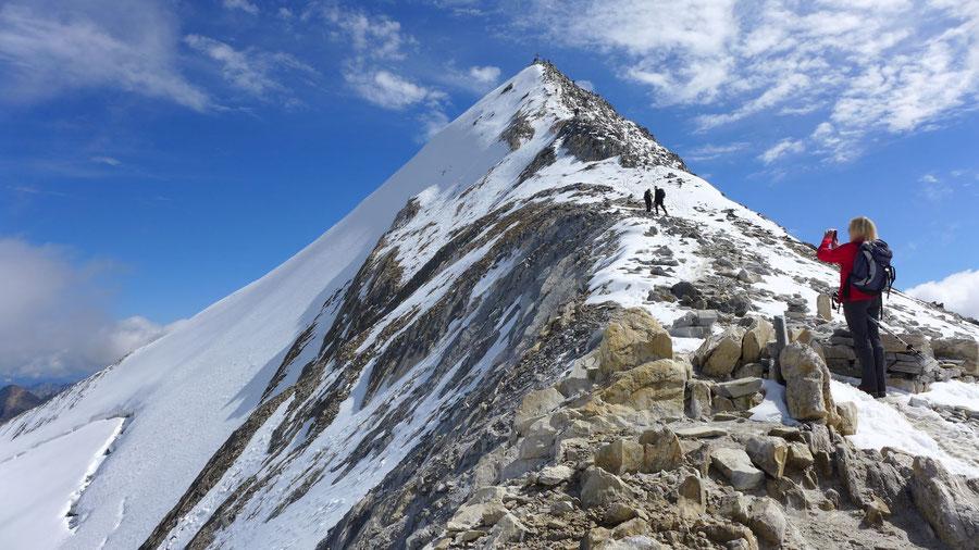 Hochfeiler - Am Südwestgrat zum Gipfel - Normalweg, Bergtour, Zillertaler Alpen, Südtirol
