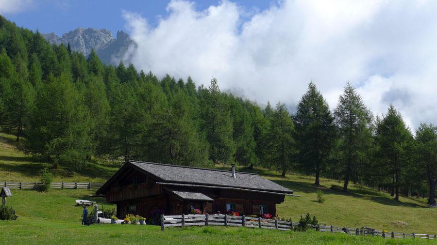 Bonn-Matreier-Hütte - Wanderung, Virgental, Venedigergruppe - Gottschaunalm