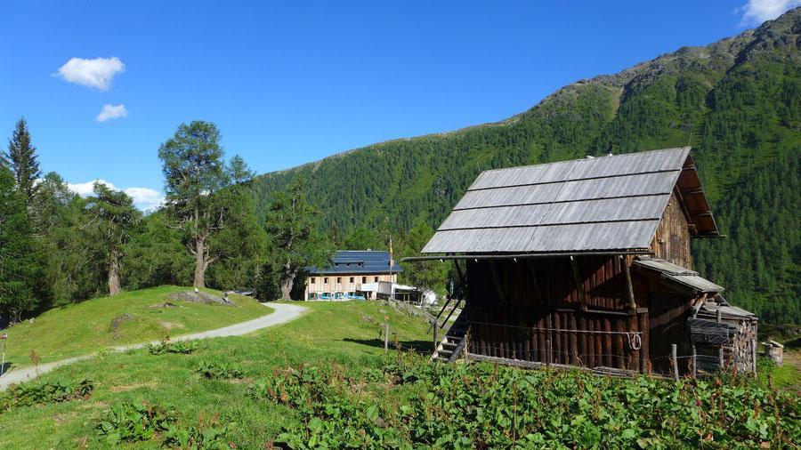 Sadnig-Höhenweg - Fraganter Schutzhaus - Bergtour, Mölltaler Gletscher, Fraganter Hütte, Kärnten