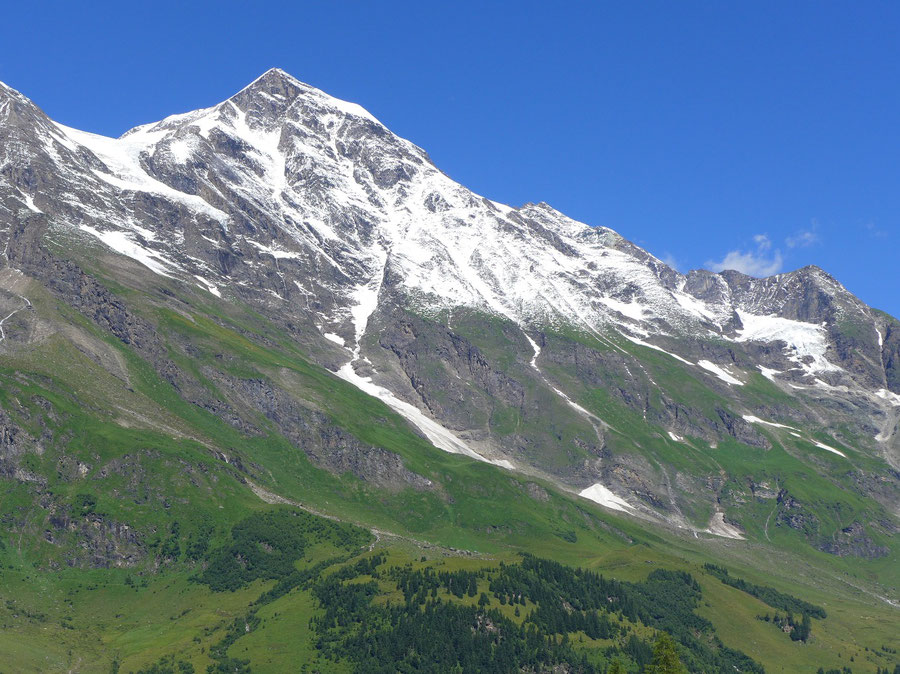 JWD Bergtouren Glocknergruppe Großes Wiesbachhorn Ostseite