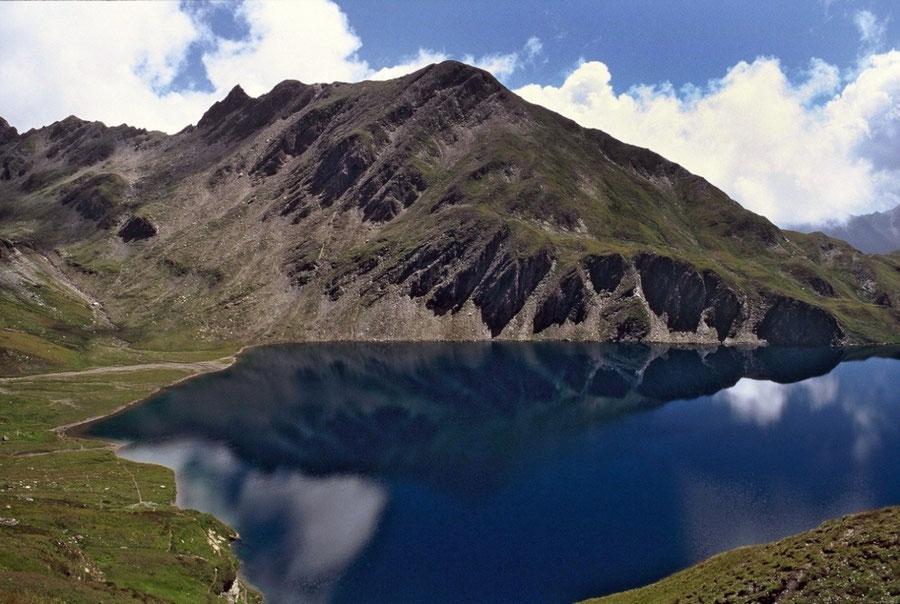 Pfunderer Höhenweg - Wilder See vom Sengesjoch - Wanderung, Pfunderer Berge, Südtirol