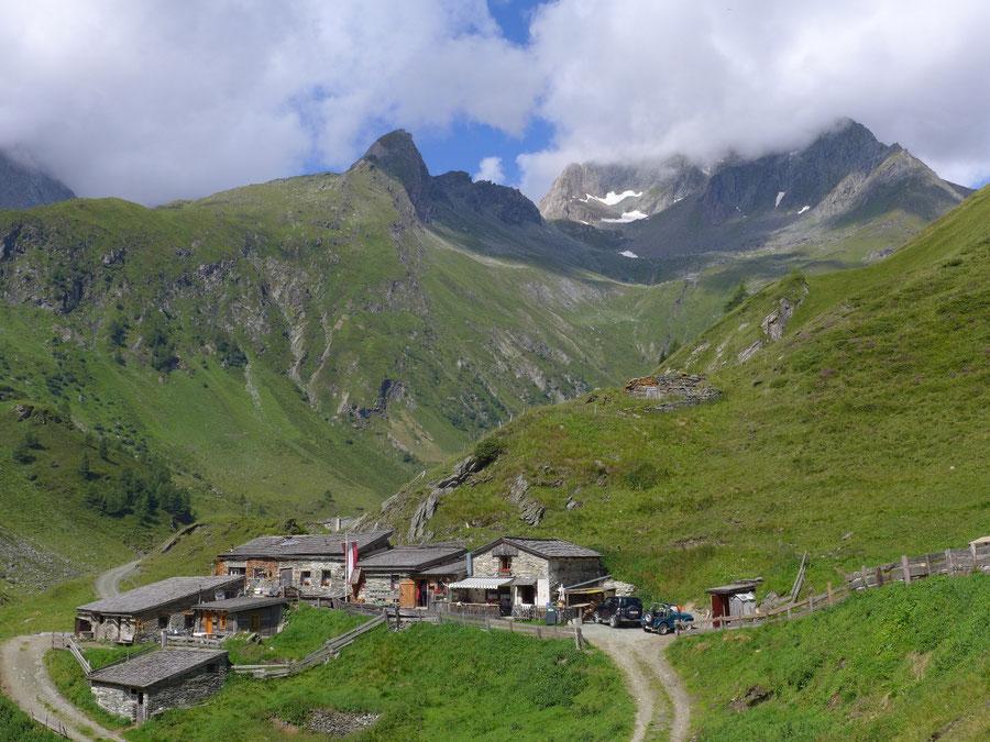 Wildenkogel - Frosnitztal, Mitteldorfer Alm - Wanderung, Badener Hütte, Wildenkogelweg