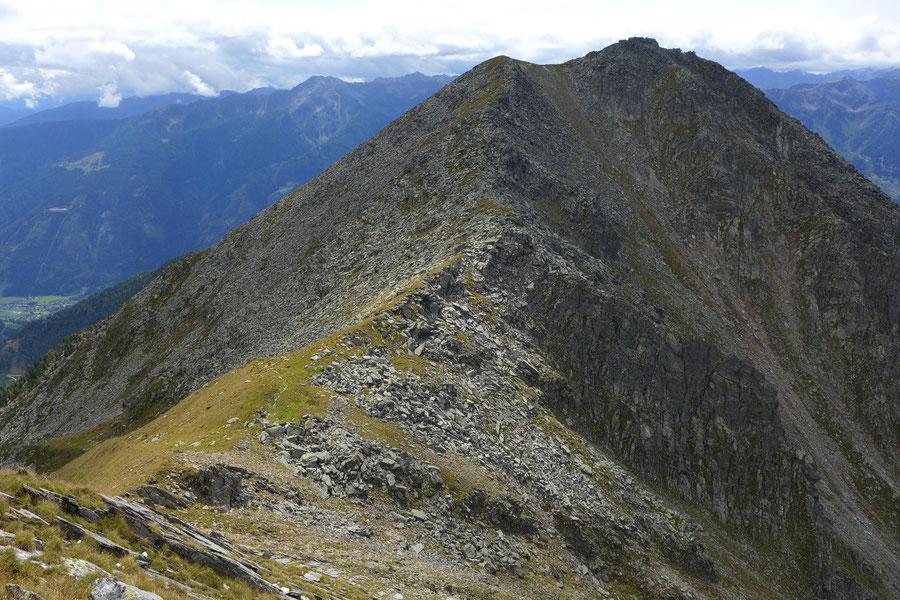 Kampleck - Arlkopf, Übergang vom Kampleck - Bergtour, Reißeckgruppe, Mölltal, Kärnten
