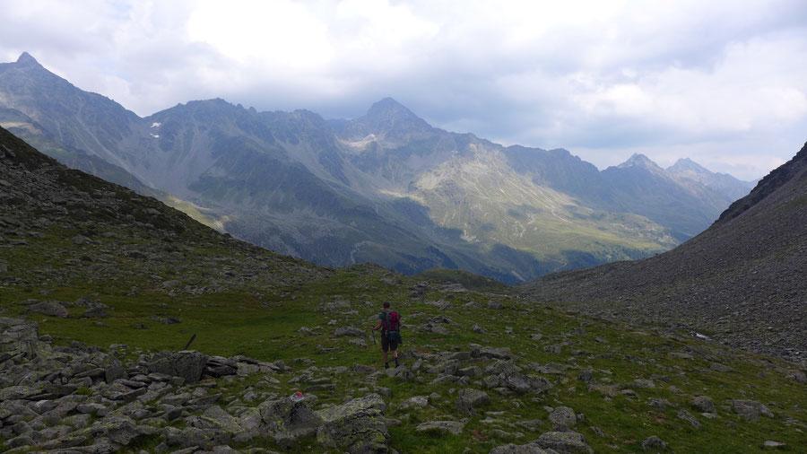 Mirnitzscharte - Mirnitzboden - Bergtour, Hochschoberhütte, Lienzer Hütte, Schobergruppe