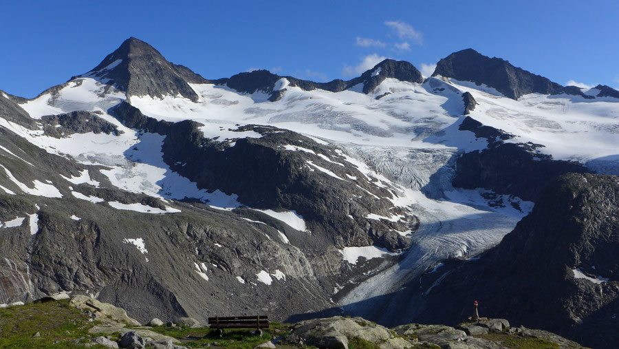 Großvenediger - Bergtour, Gletschertour, Kürsinger Hütte - Großer Geiger, Obersulzbachkees