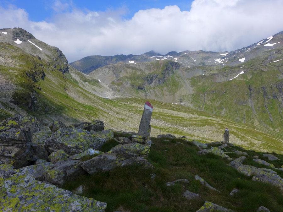 Dichtensee - Wanderung, St. Pöltener Hütte, Venedigergruppe - Felbertauern und Strommasten