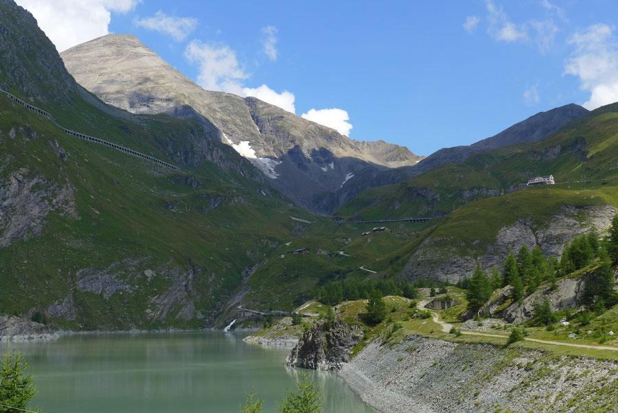 Kapuziner - Margaritzenstausee und Sinwelleck - Bergtour, Großglockner Hochalpenstrasse, Kärnten