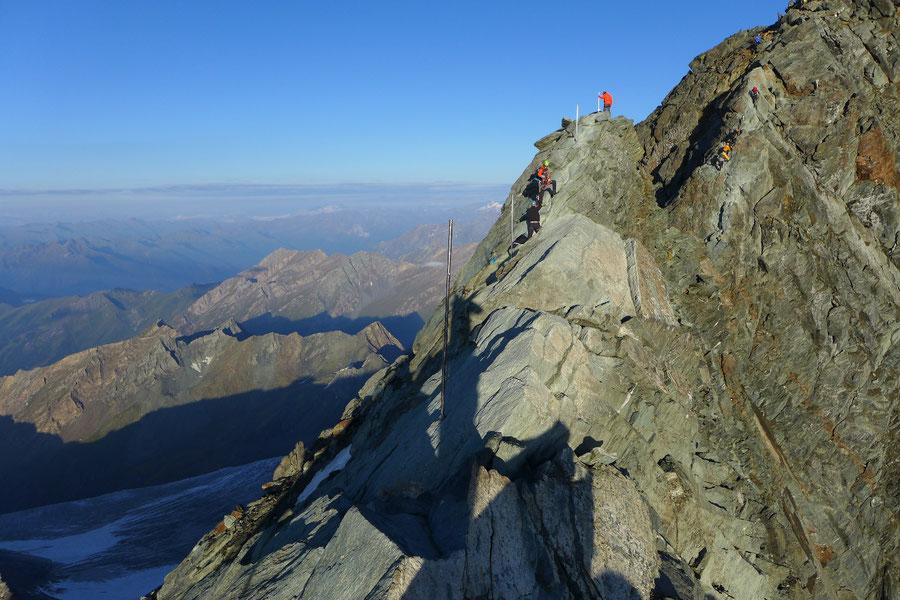 Großglockner Normalweg - Kleinglockner - Bergtour, Weg der Erstbesteiger, Kärnten