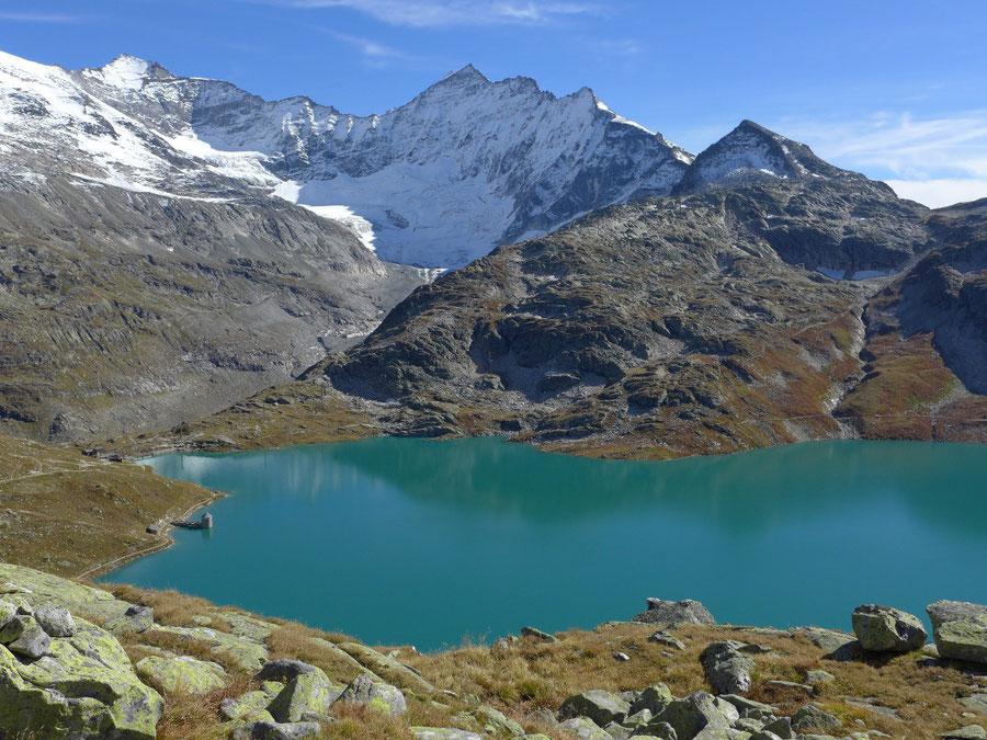 JWD Bergtouren Glocknergruppe Eiskögele über dem Weißsee