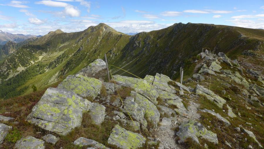 Pfunderer Höhenweg - Putzenhöhe und Bärentaler Spitze - Wanderung, Pfunderer Berge, Südtirol