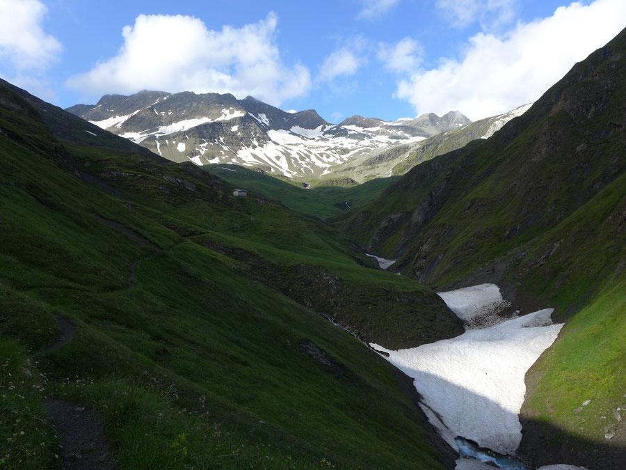 JWD Bergtouren Lasörlinggruppe Dabertal Panargenspitze