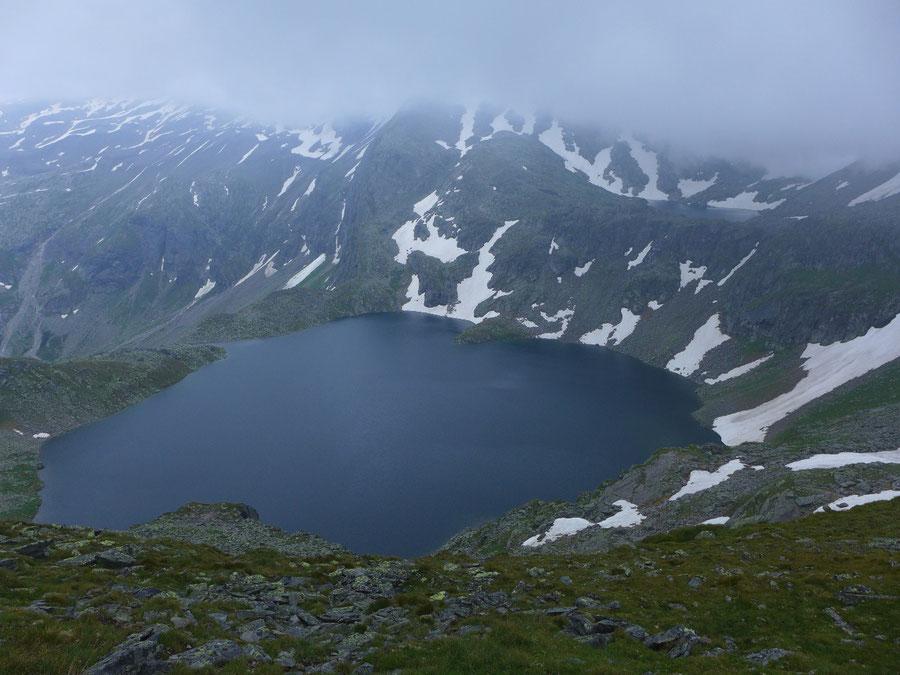 JWD Bergtouren Hafnergruppe Unterer Schwarzsee am Tauernhöhenweg