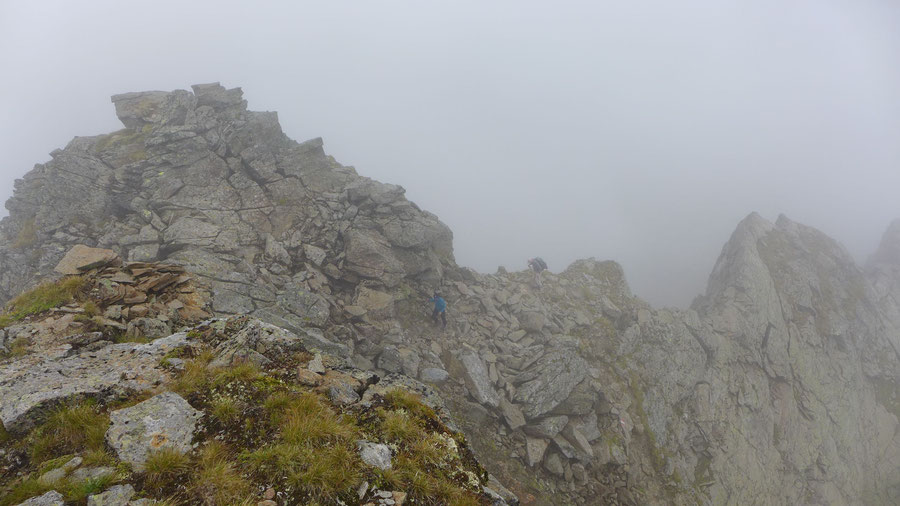Polinik - Gipfelgrat, Vorgipfel - Normalweg, Bergtour, Kreuzeckgruppe, Kärnten