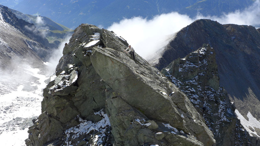 Hoher Eichham - Südgrat, Gipfelscharte - Bergtour, Bonn-Matreier-Hütte, Osttirol
