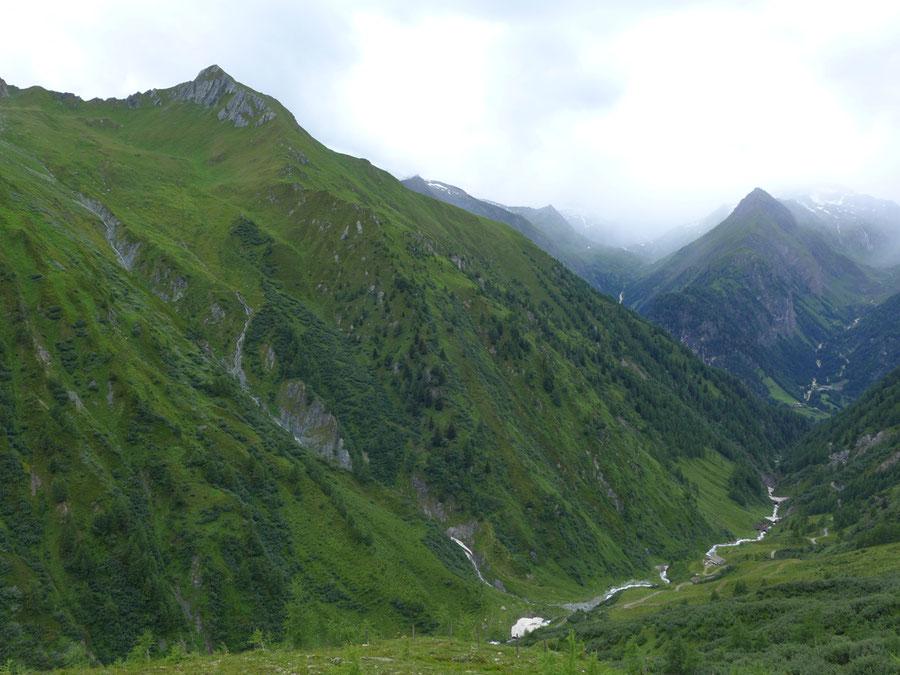 JWD Bergtouren Toinigspitze Normalweg Übersicht