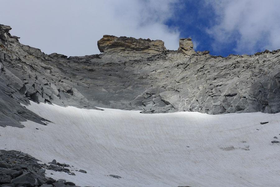 Hochalmspitze - Steinerne Mandln über dem Trippkees -  Bergtour, Detmolder Grat, Gießener Hütte
