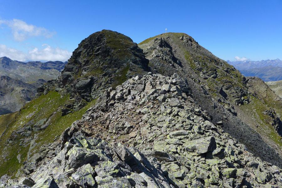 Kreuzeck - Ostgrat, Felsblöcke - Bergtour, Feldnerhütte, Kreuzeckgruppe