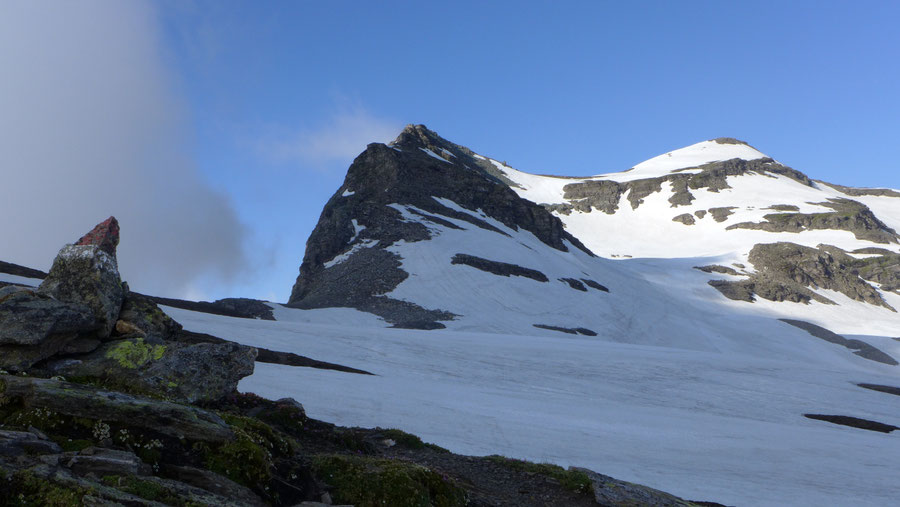 Vorderer Geiselkopf - Bergtour, Nordostgrat, Hagener Hütte - Westerfrölkekogel