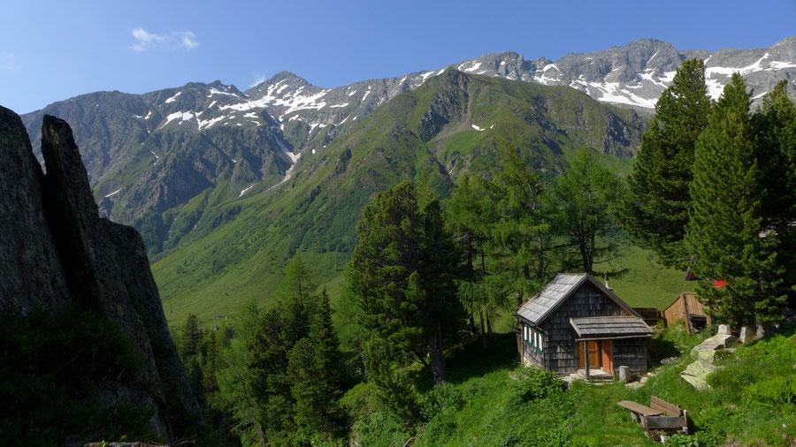 Hagener Hütte - Jagdhütte - Wanderung, Mallnitzer Tauern, Jamnigalm, Sportgastein