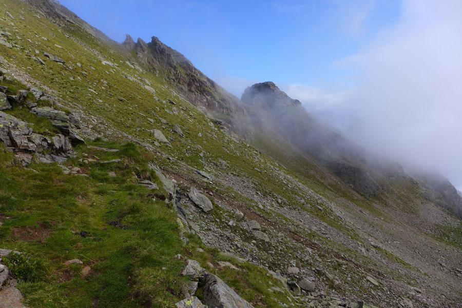 Polinik - untere Mörnigköpfe - Normalweg, Bergtour, Kreuzeckgruppe, Kärnten