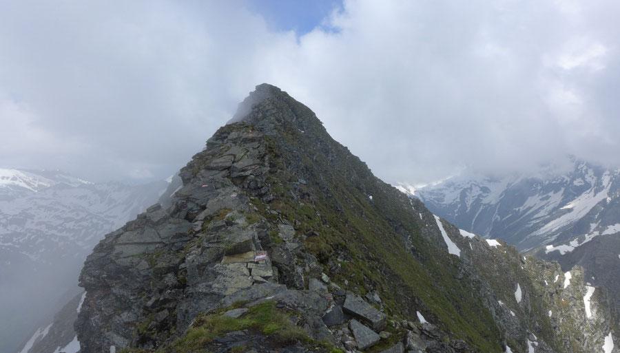 JWD Bergtouren Maresenspitze Südwestgrat Gipfelgrat