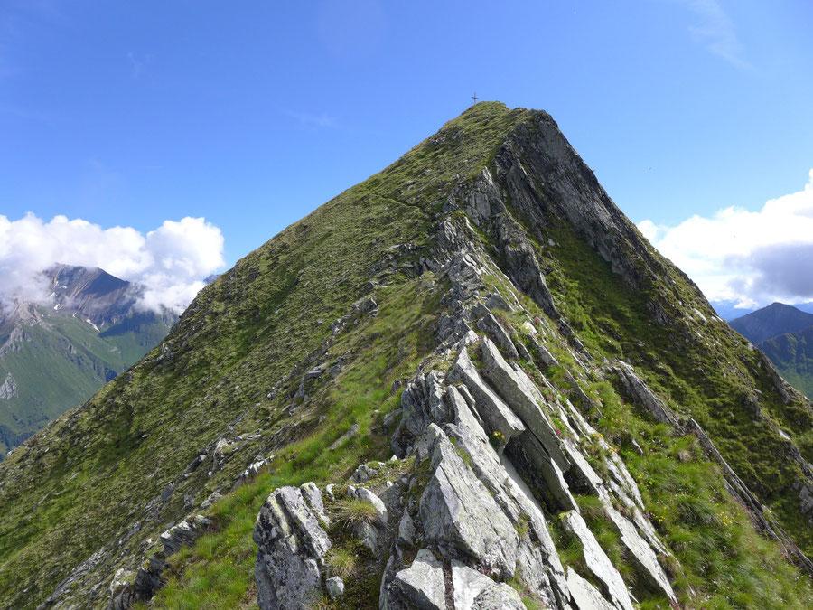 JWD Bergtouren Toinigspitze luftiger Südwestgrat
