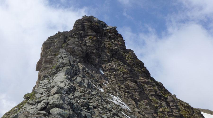 Vorderer Geiselkopf - Nordostgrat, Schlüsselstelle - Bergtour, Hagener Hütte