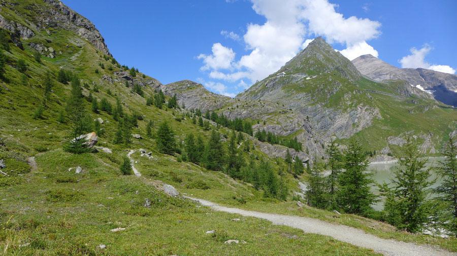 Gletscherlehrweg Pasterze - Margaritzenstausee, Franz-Josefs-Höhe - Wanderung, Großglockner Hochalpenstraße