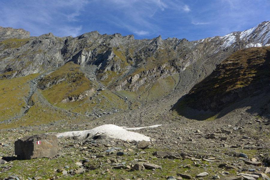 Krefelder Weg - Schmiedinger Scharte Ostseite - Rudolfshütte, Krefelder Hütte, Bergtour, Tauern