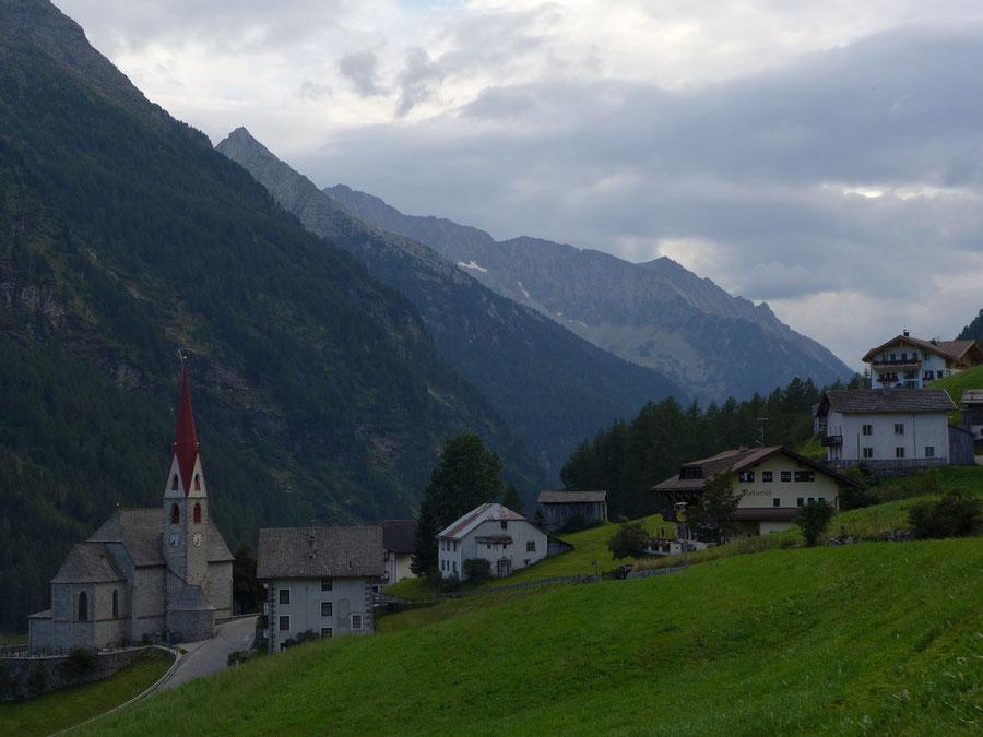 JWD Bergtouren Durreck Ausgangspunkt Rein in Taufers