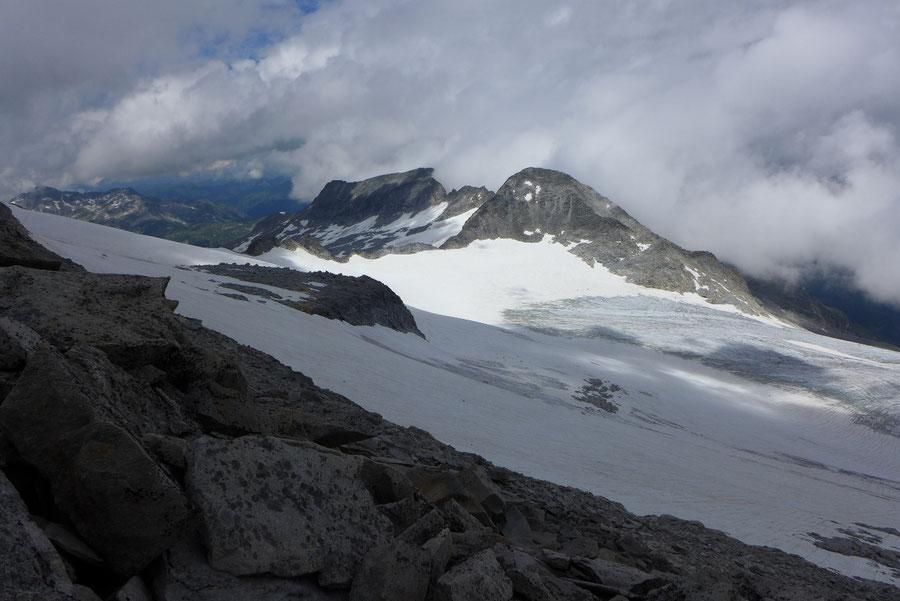 Hochalmspitze - Preimelspitze Hochalmkees - Bergtour, Steinerne Mandln, Gießener Hütte