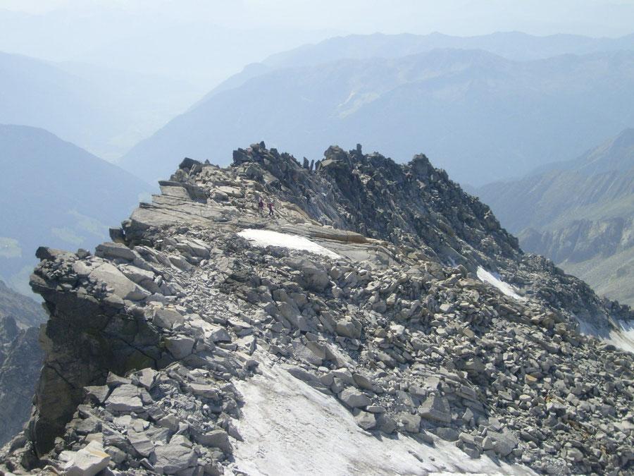 Großer Löffler - Verbindungsgrat zur Trippachspitze - Bergtour, Zillertaler Alpen, Ahrntal, Südtirol