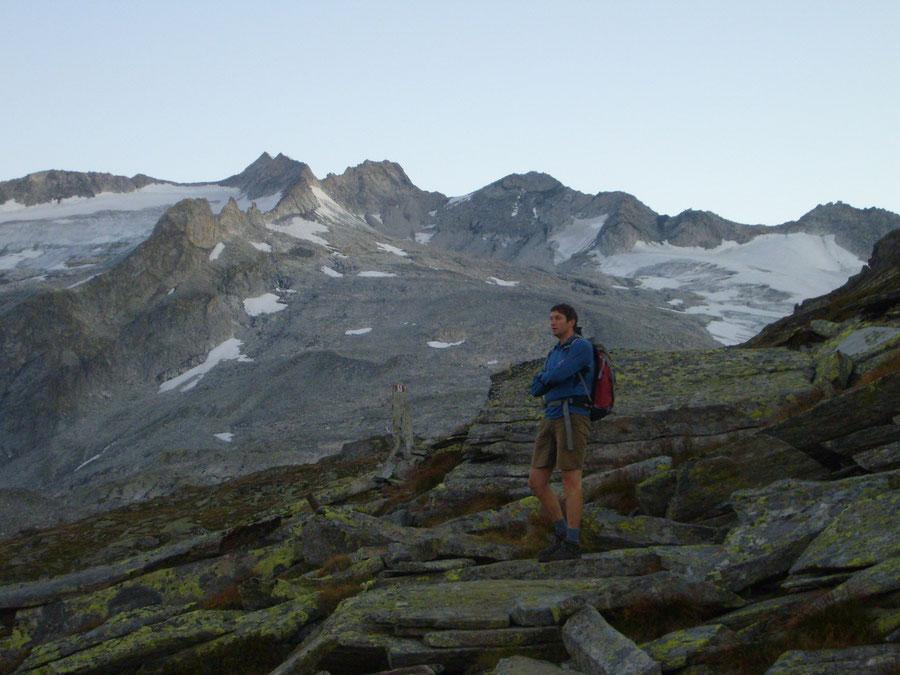 Großer Möseler - Neveser Höhenweg über der Chemnitzer Hütte - Bergtour, Zillertaler Alpen, Südtirol