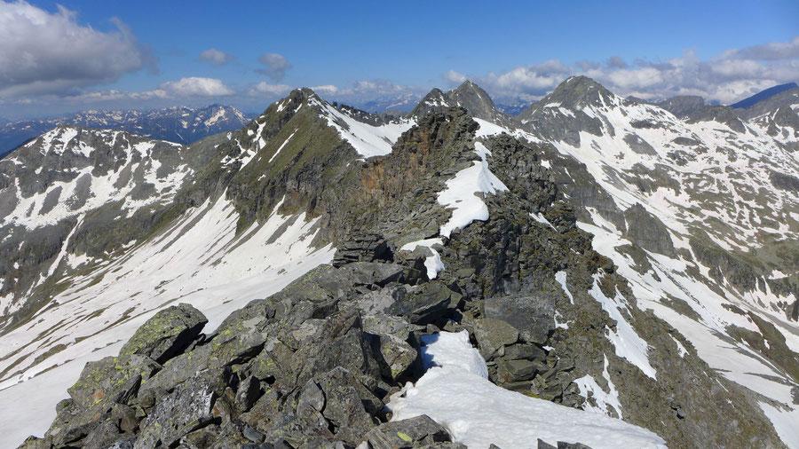 Zaubernock - Westgrat - Bergtour, Obere Mooshütte, Reißeckgruppe, Kärnten