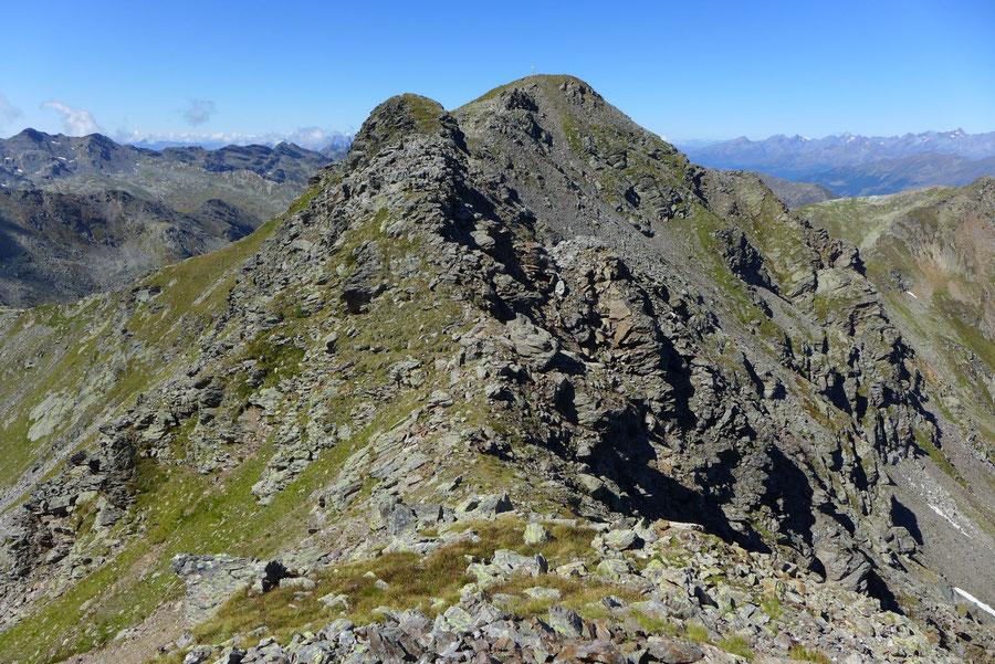 Kreuzeck - Ostgrat, erster Ostgratturm - Bergtour, Feldnerhütte, Kreuzeckgruppe