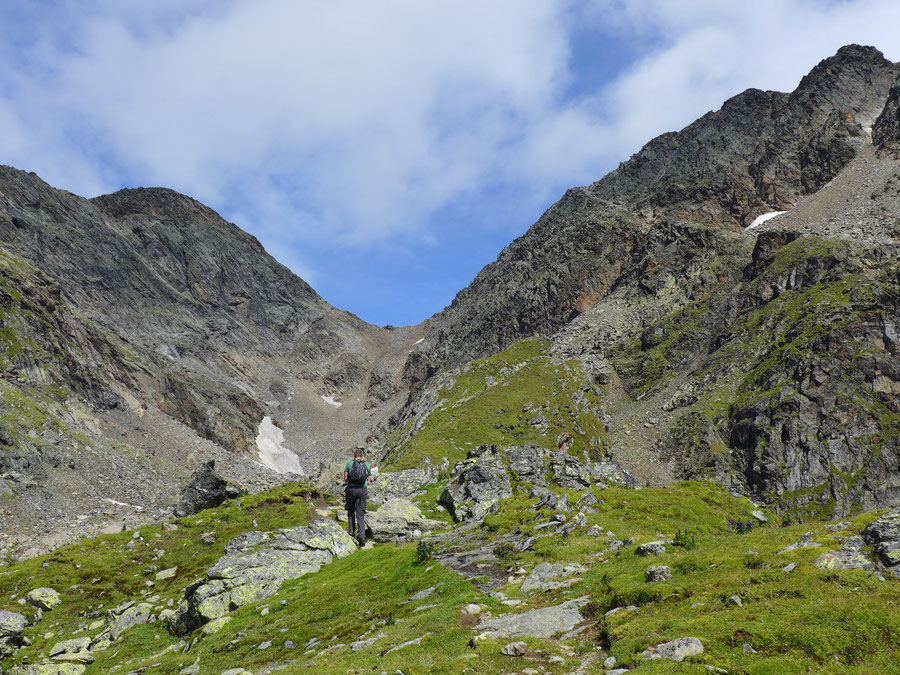 Petzeck Normalweg - Grasrücken - Bergtour, Wangenitzseehütte, Schobergruppe