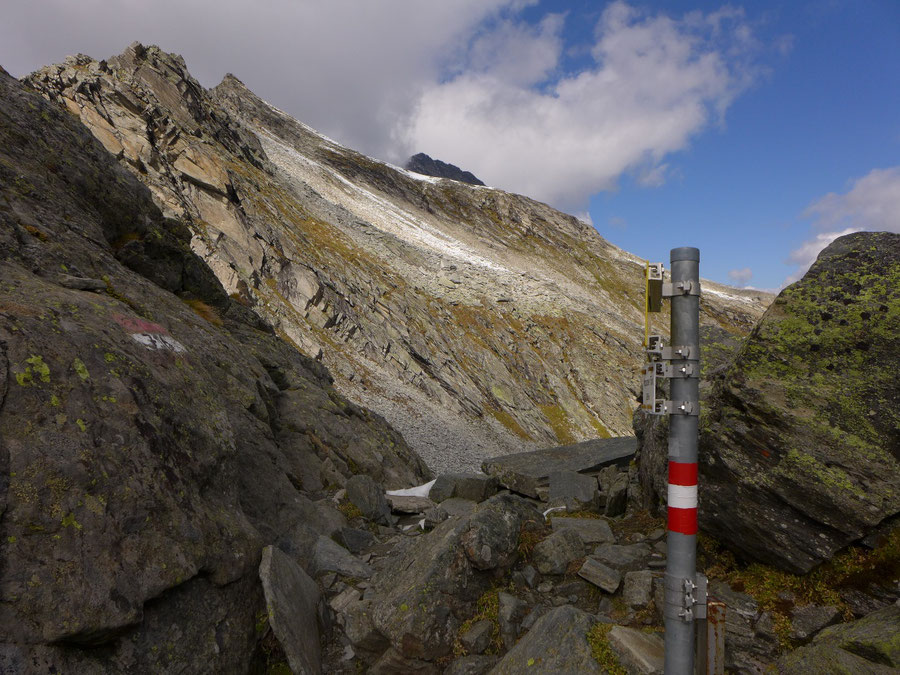 JWD Bergtouren Kapruner Törl Blick zum Kleineiser