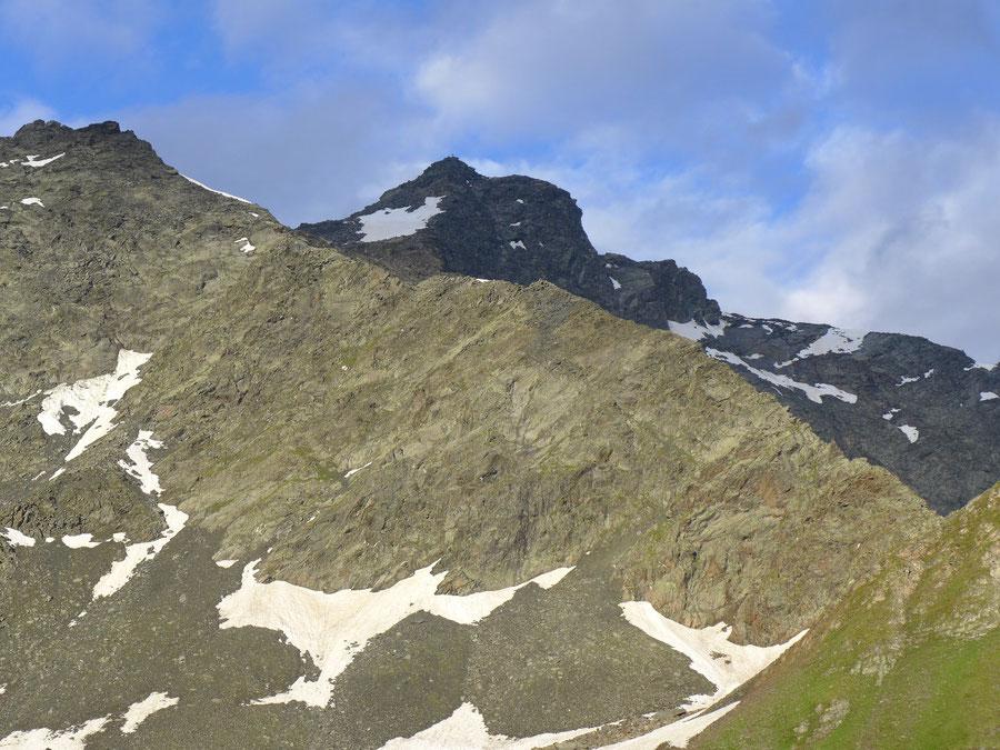 JWD Bergtouren Keeseck Nordgrat im Profil