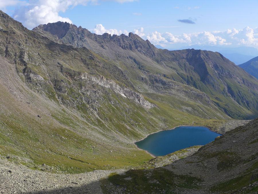 JWD Bergtouren Pfunderer Berge Eisbruggsee und Rote Riffl