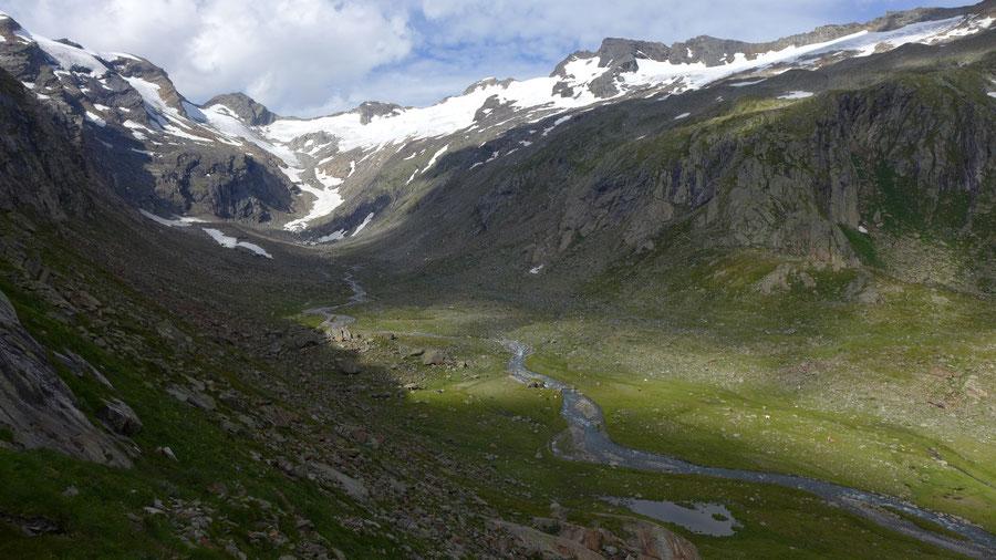 Östliche Simonyspitze - Dellacher Keesflecke, Aufstieg aus dem Maurertal - Bergtour, Essener-Rostocker-Hütte, Osttirol